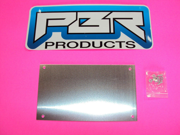 Yamaha Rhino Dash Center Blank Alum Cover Plate For Mounting Gauges RAM MOUNT