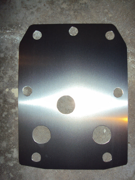 YAMAHA RHINO REAR SKID PLATE 2006 - 2013 450 660 700 UTV ATV Guard WOW