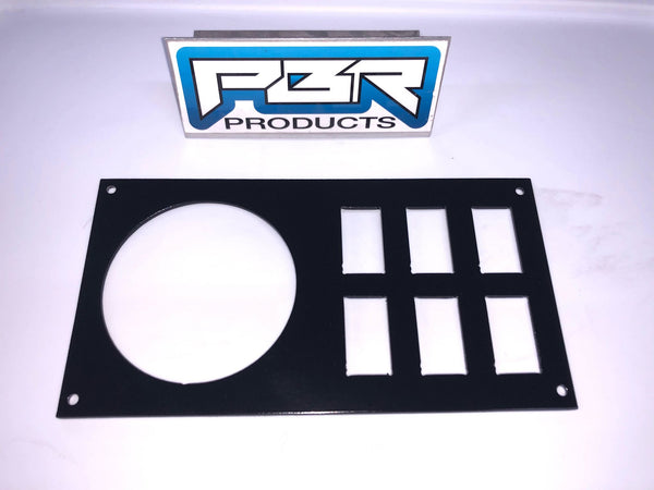 "Honda Pioneer 1000 Rockville RGHR2 3.72"" plate with 6 switches - Part# RK1000HP"