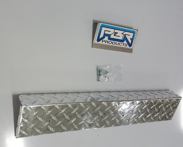 Diamond Plate Rear Bumper Cover For EZGO RXV 2008 and newer