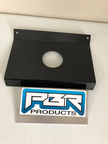 "Polaris RZR In-Dash Stereo Panel Blank Panel with 2"" round hole for Rockford Fosgate - Part#R2RF"