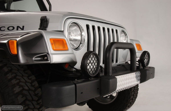 Jeep Wrangler Tomb Raider Edition Diamond Front Bumper Skid Plate TJ WOW!!!!!