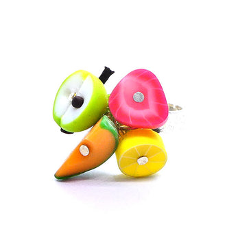 Bague multi-fruits