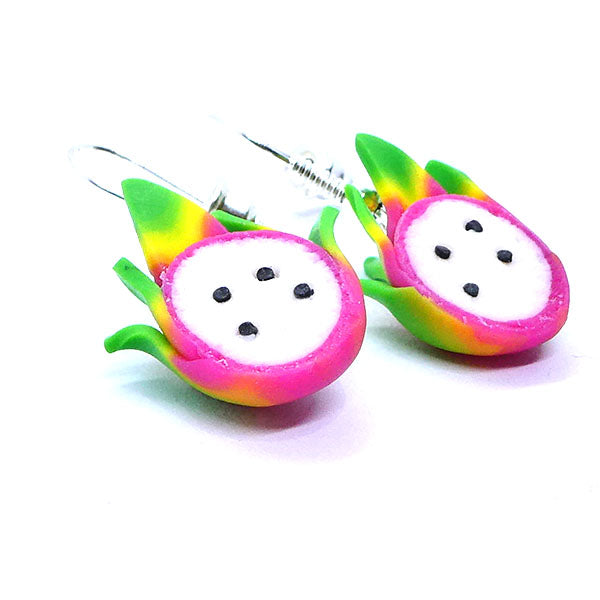 Boucles d'oreilles fruit du dragon