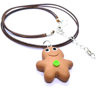 Collier gingerman grand modèle
