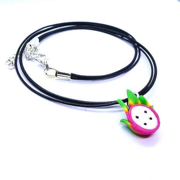 Collier fruit du dragon