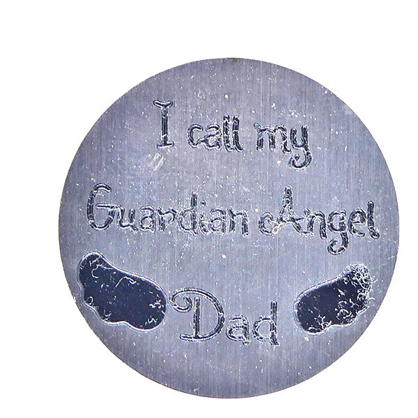 I call my guardian angel Dad (30mm)
