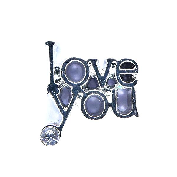 I love you avec strass