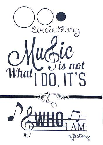 Music is not what I do, it's who I am
