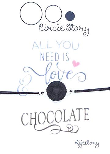 All you need is love but little chocolate doesn't hurt