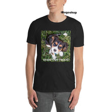 Load image into Gallery viewer, iBogoshop Where's my Treats Puppy Short-Sleeve T-Shirt