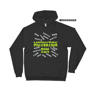 iBogoshop Custom Gear Motivation Run Hoodie