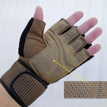 Load image into Gallery viewer, Gym Wrist Wrap Fitness Gloves