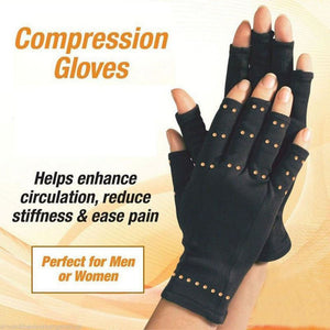 Brand New Copper Arthritis Hand Therapeutic Compression Gloves