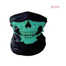Load image into Gallery viewer, Ski Skull Half Face Mask Scarf