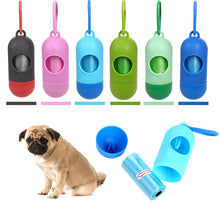 Load image into Gallery viewer, Pill Shape Pet Dog Poop Waste Bag Dispenser