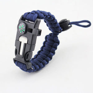 Multi-function Paracord Bracelet 4 in 1 Survival Rope