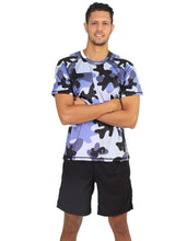 Mens Tshirt Army Blue