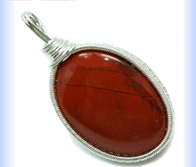 Red Jasper Caberchone Pendant - Healing Crystals