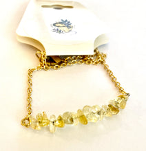 Citrine Bar Necklace - The Sacred Serpentine