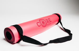 Core Yoga Mat Rose Red