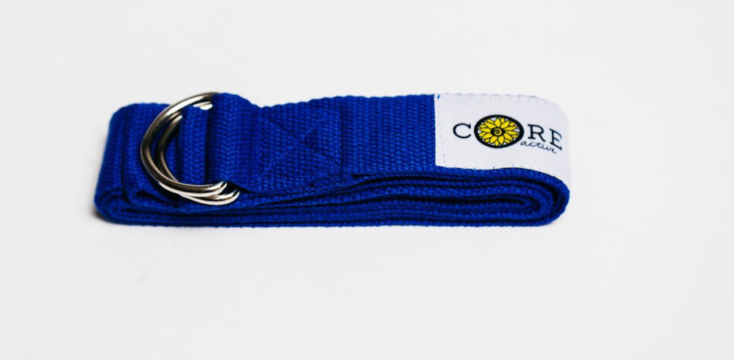 Yoga Strap Royal Blue