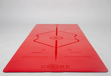 Kids Core Yoga Mat Red