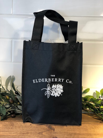 Elderberry Black Tote