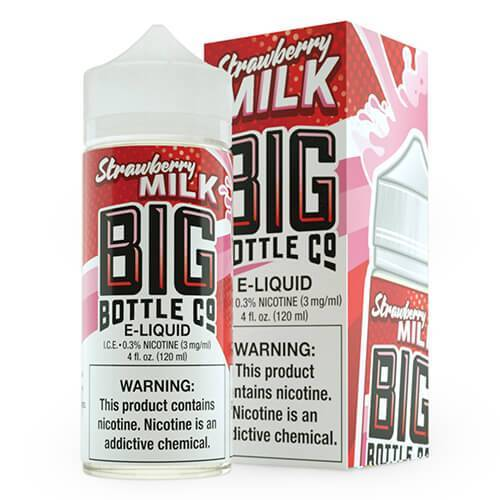 Big Bottle Co. E-Juice - Strawberry Milk