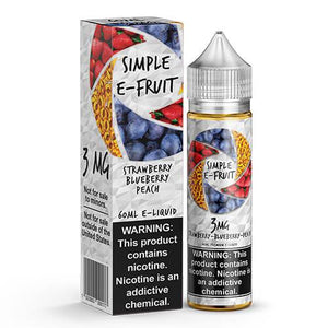 Simple E-Fruit - Strawberry Blueberry Peach