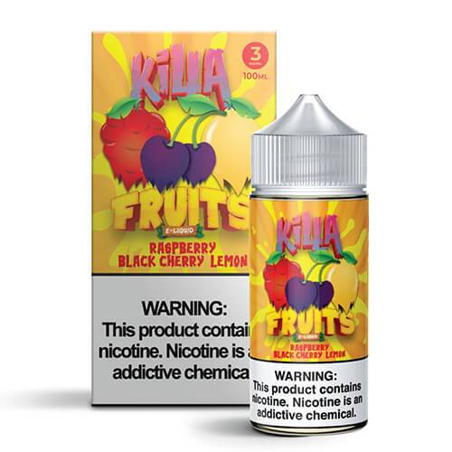 Killa Fruits - Raspberry Black Cherry Lemon