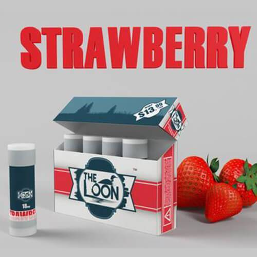 The Loon eCig - Reload Shot - Strawberry (5 Pack)