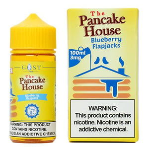 The Pancake House by Gost Vapor - Blueberry Flapjacks