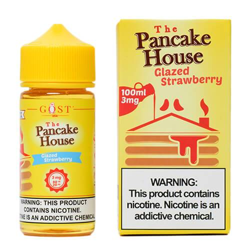 The Pancake House by Gost Vapor - Glazed Strawberry