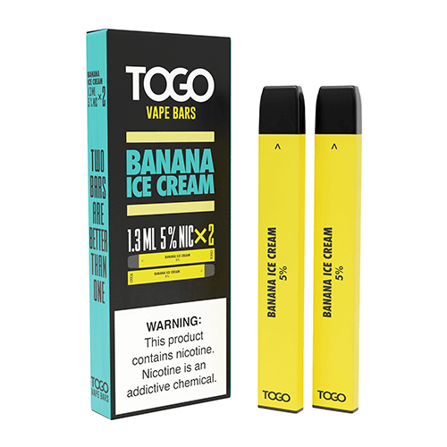 TWST TOGO - Disposable Vape Device Twin Pack - Banana Ice Cream
