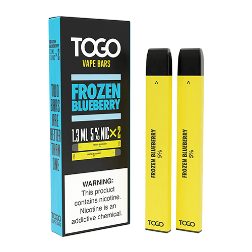 TWST TOGO - Disposable Vape Device Twin Pack - Frozen Blueberry