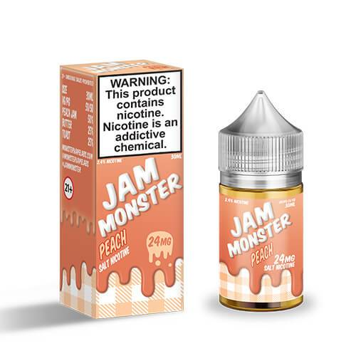 Jam Monster eJuice SALT - Peach