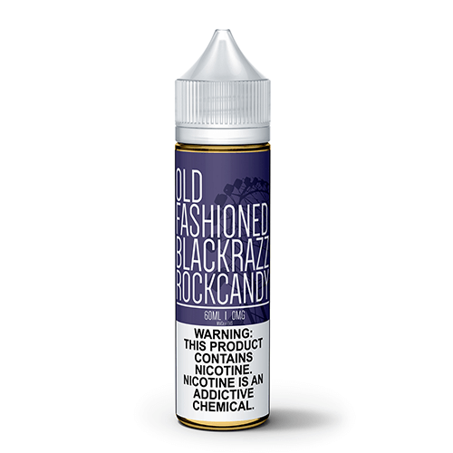 Old Fashioned by Maine Vape Co - Black Razz Rock Candy