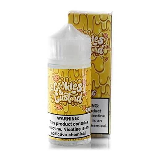 Vaper Treats - Cookies and Custard