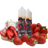 50 Shades of Custard eJuice - Sophia Strawberry