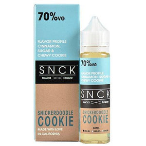 SNCK Snacks E-Liquid - Snickerdoodle Cookie
