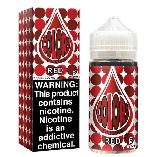 Colors eLiquid - Red
