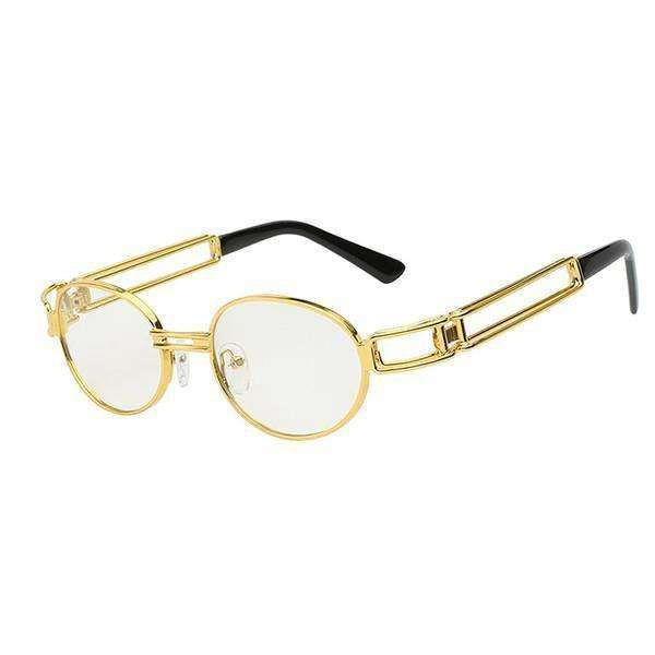 ELEVATE - GOLD CLEAR LENS - CLOUT CULTURE