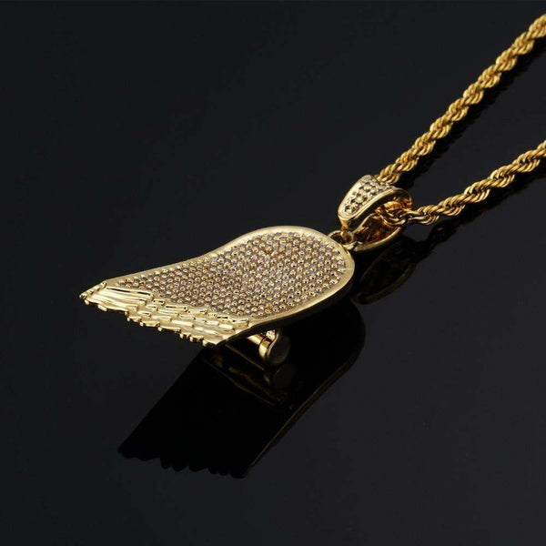 ICED OUT HALF BOARD ROPE CHAIN - GOLD - CLOUT CULTURE