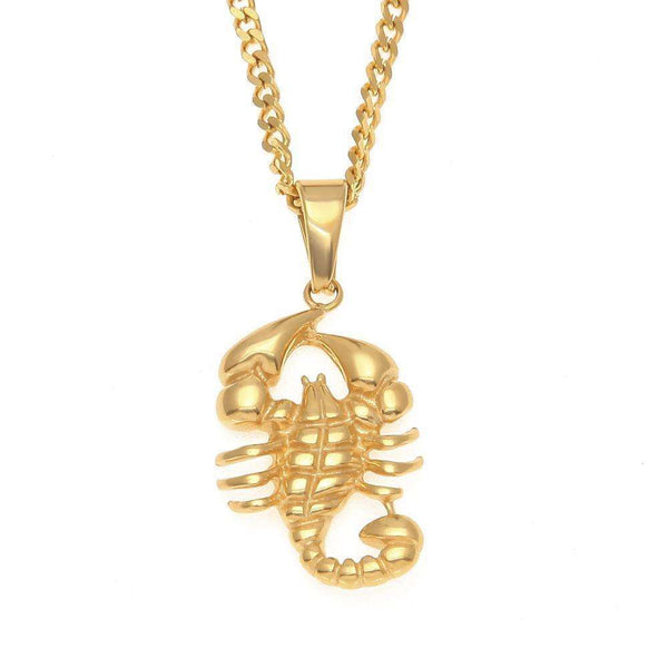 SCORPION CHAIN - GOLD - CLOUT CULTURE