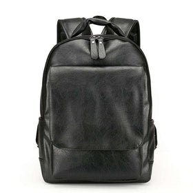 DELUXE BACKPACK - BLACK - CLOUT CULTURE