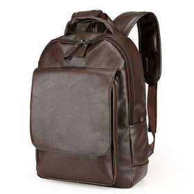 DELUXE BACKPACK - BROWN - CLOUT CULTURE