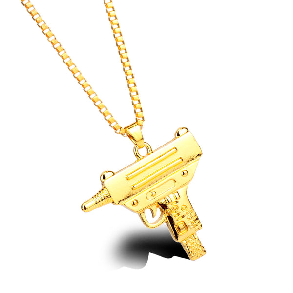 LIL UZI CHAIN - GOLD - CLOUT CULTURE