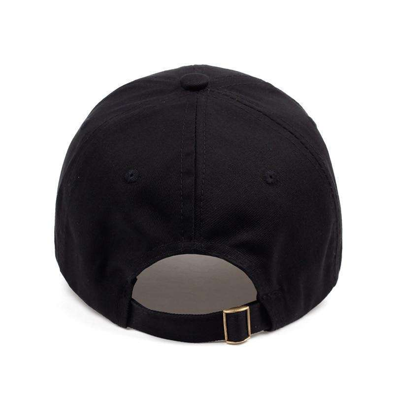 fab9f0414 NO NEW FRIENDS DAD HAT - BLACK