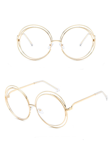 PRESTO - GOLD CLEAR LENS - CLOUT CULTURE
